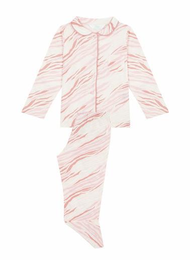 Penti Çok Renkli Kız Çocuk Zebra 2Li Gömlek Takımı Renkli